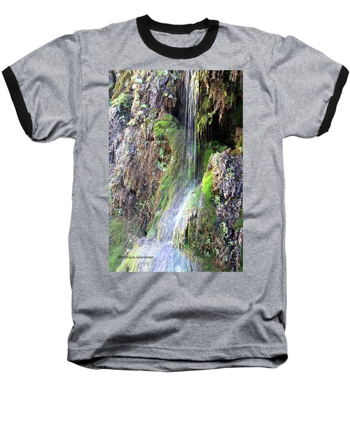 Tonto Waterfall Cave Baseball T-Shirt