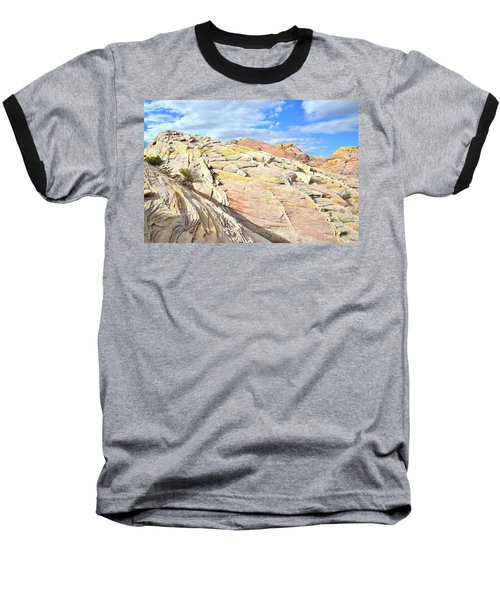 Top Of The World At Valley Of Fire Baseball T-Shirt