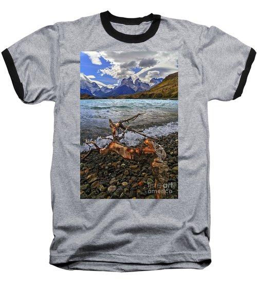 Torres Del Paine 17 Baseball T-Shirt by Bernardo Galmarini