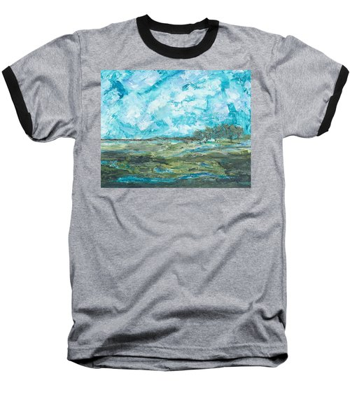 Toward Pinckney Island Baseball T-Shirt