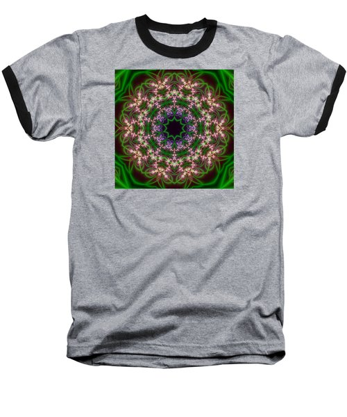 Transition Flower 10 Beats Baseball T-Shirt by Robert Thalmeier