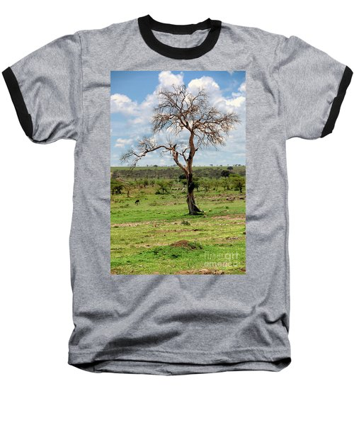 Baseball T-Shirt featuring the photograph Tree by Charuhas Images