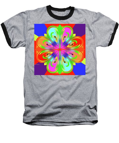 Tribute To Peter Max Baseball T-Shirt