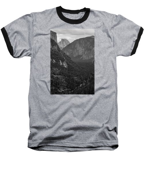 Tunnel View Baseball T-Shirt