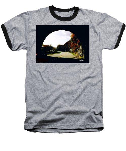 Tunnel Vision Baseball T-Shirt by Seth Weaver