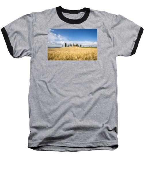 Tuscan Villa Baseball T-Shirt
