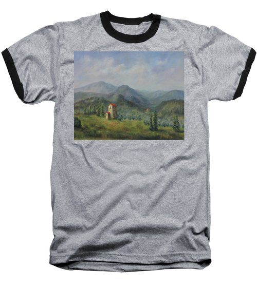 Tuscany Italy Olive Groves Baseball T-Shirt
