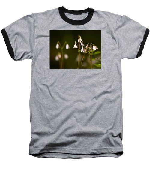 Twinflower Baseball T-Shirt by Jouko Lehto