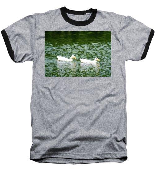 Two Ducks Baseball T-Shirt
