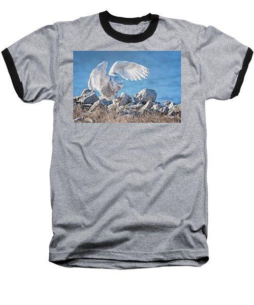 Two Point Landing Baseball T-Shirt