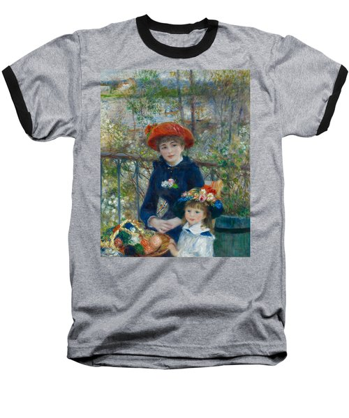 Two Sisters On The Terrace Baseball T-Shirt