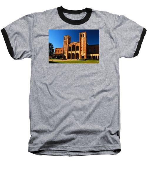 Baseball T-Shirt featuring the photograph Ucla by James Kirkikis