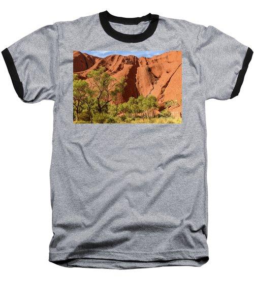 Baseball T-Shirt featuring the photograph Uluru 07 by Werner Padarin