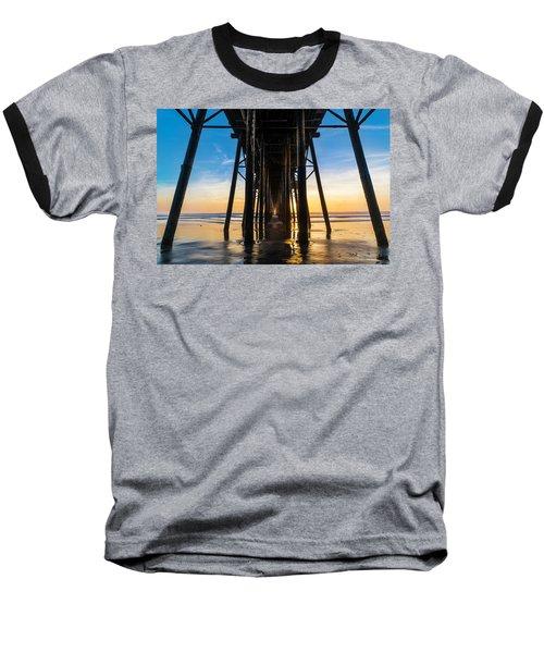 Under The Oceanside Pier Baseball T-Shirt