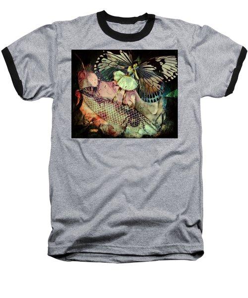 Underwater Ride Baseball T-Shirt