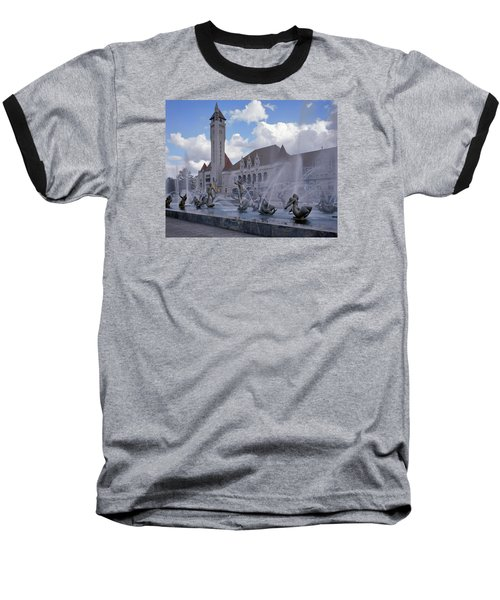 Baseball T-Shirt featuring the photograph Union Station - St Louis by Harold Rau