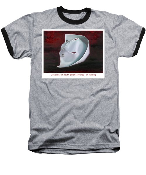 University Of South Carolina College Of Nursing Baseball T-Shirt by Marlyn Boyd