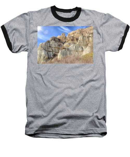 Unstable Cliffs Baseball T-Shirt