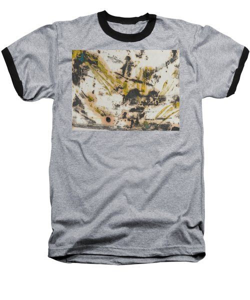 Baseball T-Shirt featuring the painting Untitled  by Patrick Morgan