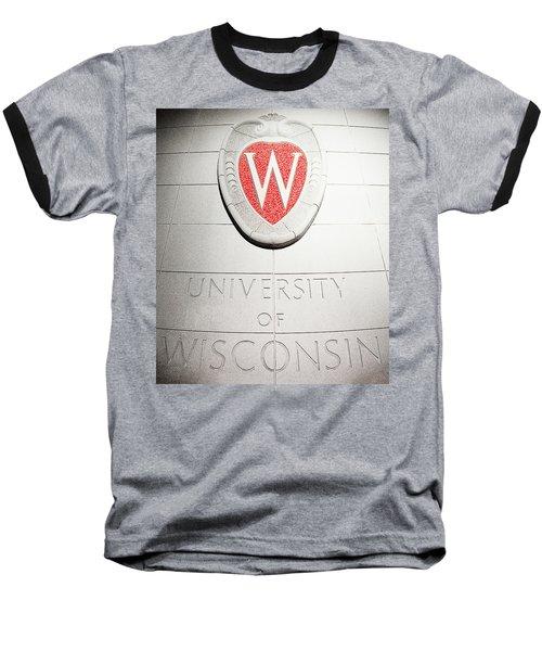 Uw Crest Baseball T-Shirt