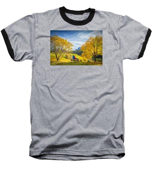 Val Di Funes, Italy Baseball T-Shirt
