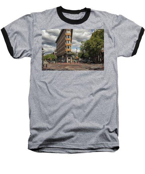 Vancouver City Life Baseball T-Shirt by Patricia Hofmeester