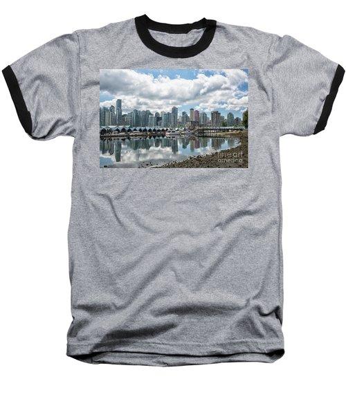 Vancouver Skyline Baseball T-Shirt