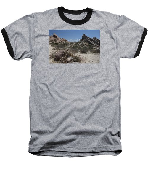 Vasquez Rocks Baseball T-Shirt