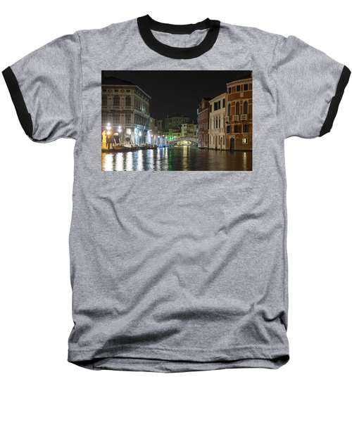 Baseball T-Shirt featuring the photograph Romantic Venice  by Silvia Bruno