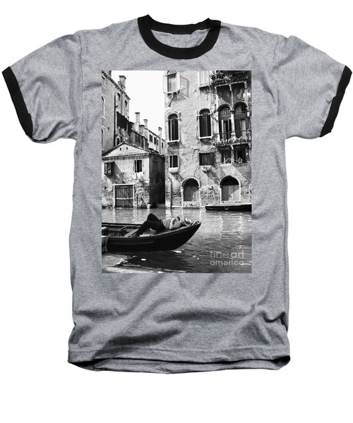 Baseball T-Shirt featuring the photograph Venice Canal, 1969 by Granger