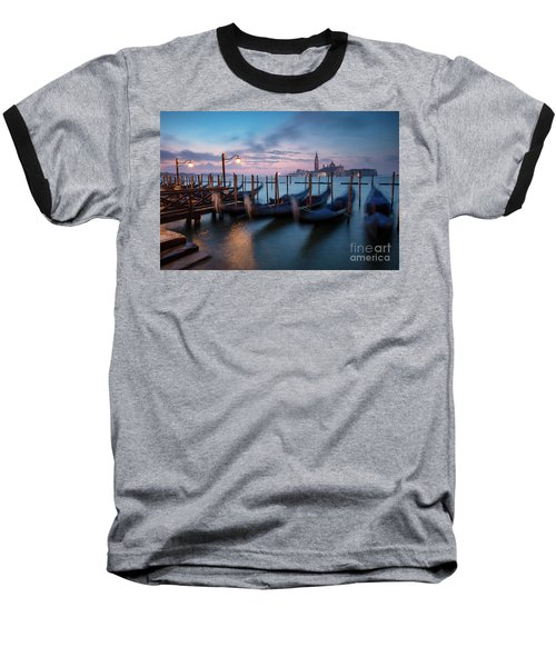 Baseball T-Shirt featuring the photograph Venice Dawn by Brian Jannsen