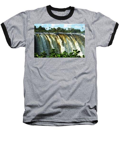 Victoria Falls Baseball T-Shirt