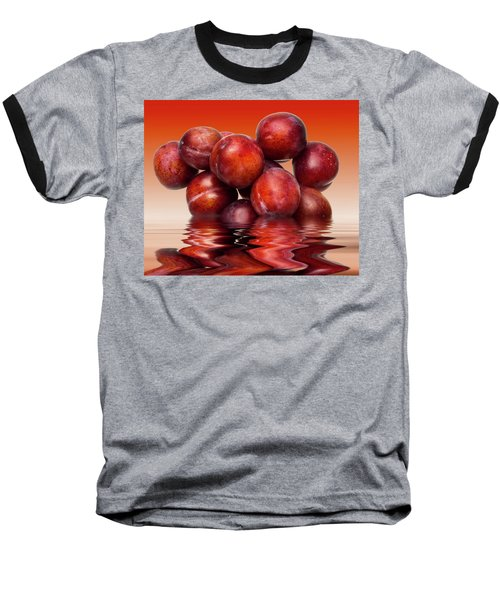 Victoria Plums Baseball T-Shirt by David French
