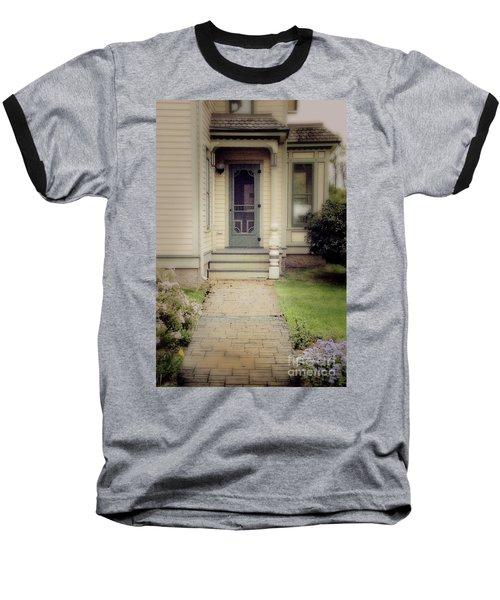 Baseball T-Shirt featuring the photograph Victorian Porch by Jill Battaglia