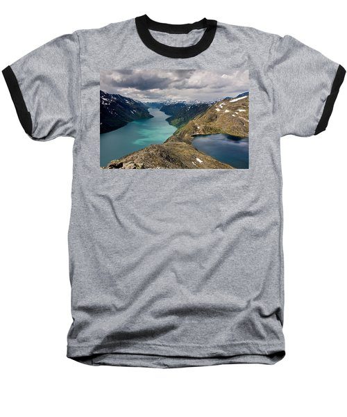View From Bessegen Ridge Baseball T-Shirt