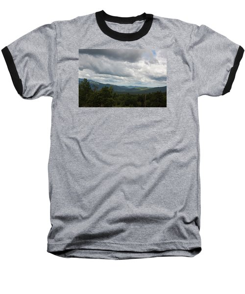 View From Mount Washington Baseball T-Shirt by Suzanne Gaff