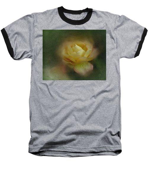 Vintage October Rose  Baseball T-Shirt by Richard Cummings