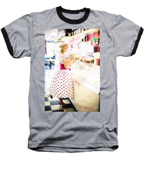 Vintage Val Ice Cream Parlor Baseball T-Shirt