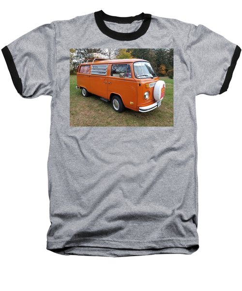Volkswagen Bus T2 Westfalia Baseball T-Shirt