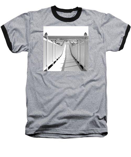 Walkway To Beach Baseball T-Shirt