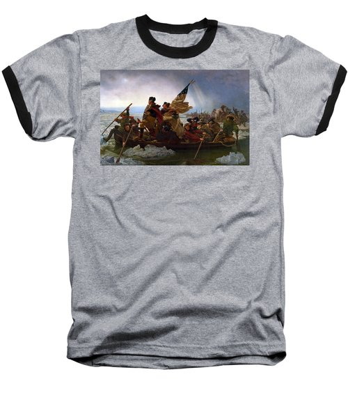 Washington Crossing The Delaware Baseball T-Shirt