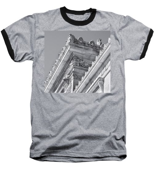 Washington Dc Architecture Baseball T-Shirt by Debbie Karnes