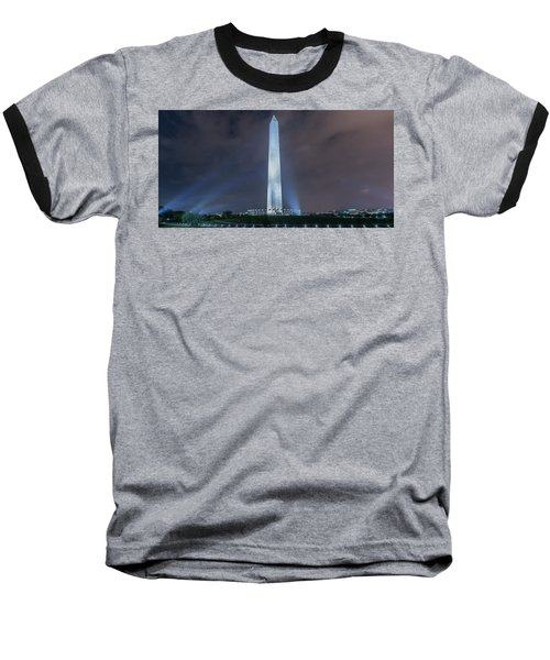 Baseball T-Shirt featuring the photograph Washington Monument by Theodore Jones