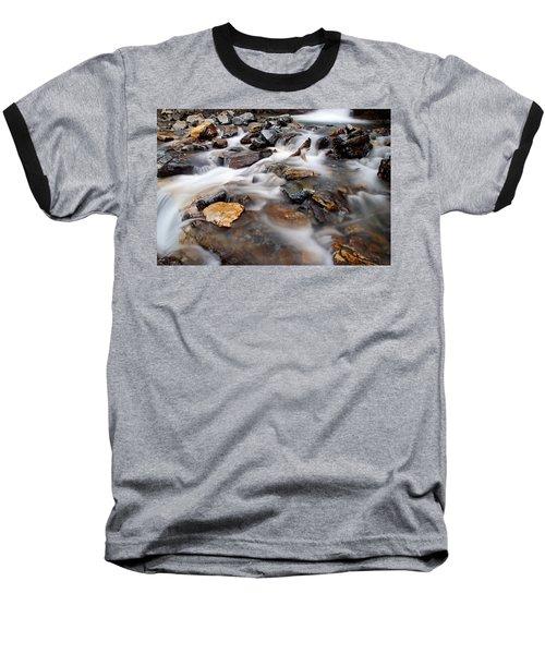 Water On The Rocks Baseball T-Shirt