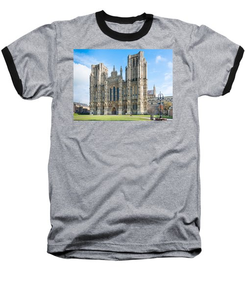 Wells Cathedral Baseball T-Shirt