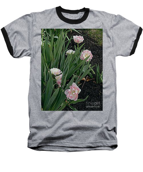 Baseball T-Shirt featuring the photograph We're Over Here by Nancy Kane Chapman