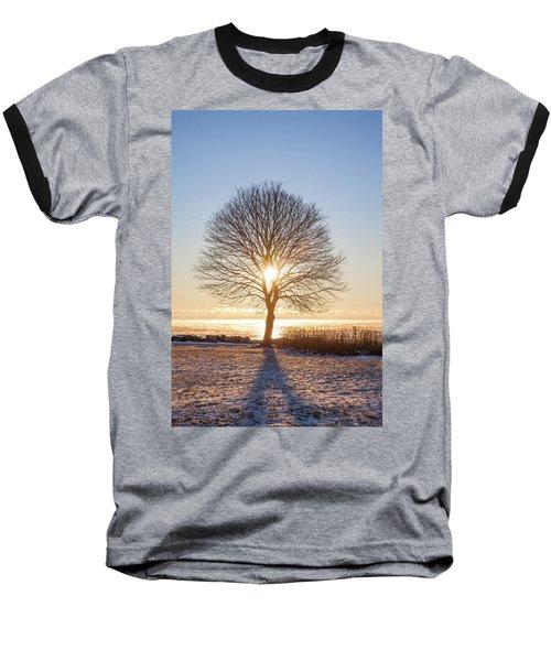 Baseball T-Shirt featuring the photograph Whaleback Sunrise by Robert Clifford