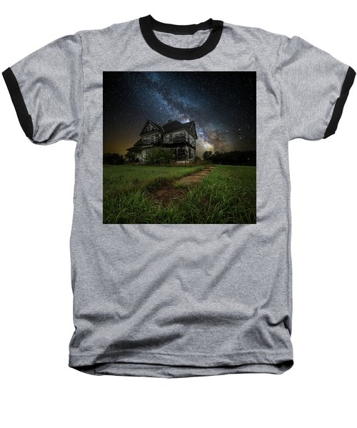 Baseball T-Shirt featuring the photograph What Once Was by Aaron J Groen
