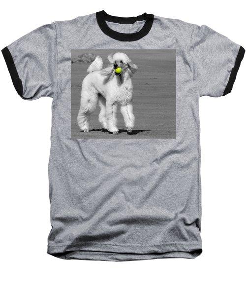 Pedicured Pup Hits The Beach Baseball T-Shirt