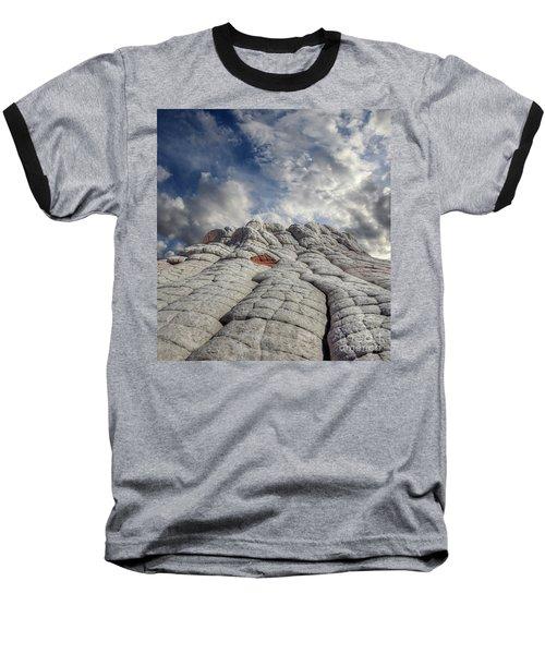 Where Heaven Meets Earth 2 Baseball T-Shirt by Bob Christopher
